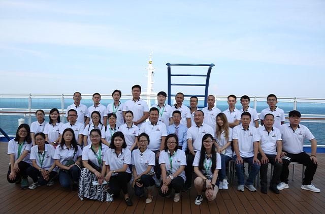 2017年9月盛世公主号游轮培训拓展